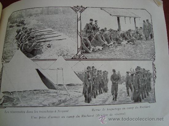 Libros antiguos: (378) SOUVENIR DES GRANDES MANOEUVRES DE 1912 - Foto 4 - 31774139