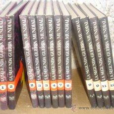 Libros antiguos: 12 TOMOS DE LA SEGUNDA GUERRA MUNDIAL 1965. Lote 31907223