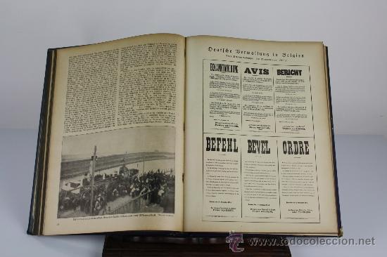 Libros antiguos: 6065 - DIE GROSE BEIT ILUSTRIERTE. VV,AA, EDIT. VERLAG ULLSTEIN. 2 TOMOS. 1915. - Foto 3 - 38509992