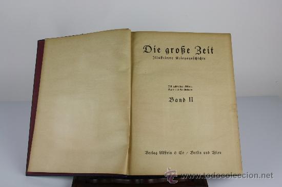 Libros antiguos: 6065 - DIE GROSE BEIT ILUSTRIERTE. VV,AA, EDIT. VERLAG ULLSTEIN. 2 TOMOS. 1915. - Foto 4 - 38509992
