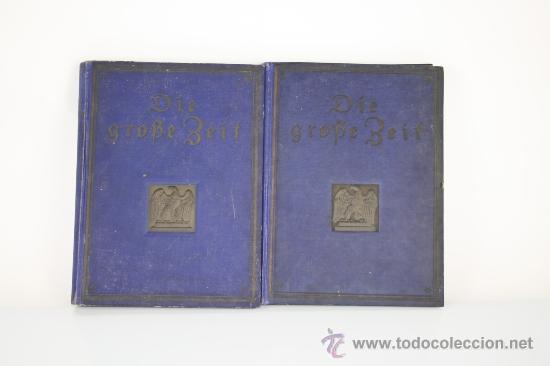 Libros antiguos: 6065 - DIE GROSE BEIT ILUSTRIERTE. VV,AA, EDIT. VERLAG ULLSTEIN. 2 TOMOS. 1915. - Foto 7 - 38509992