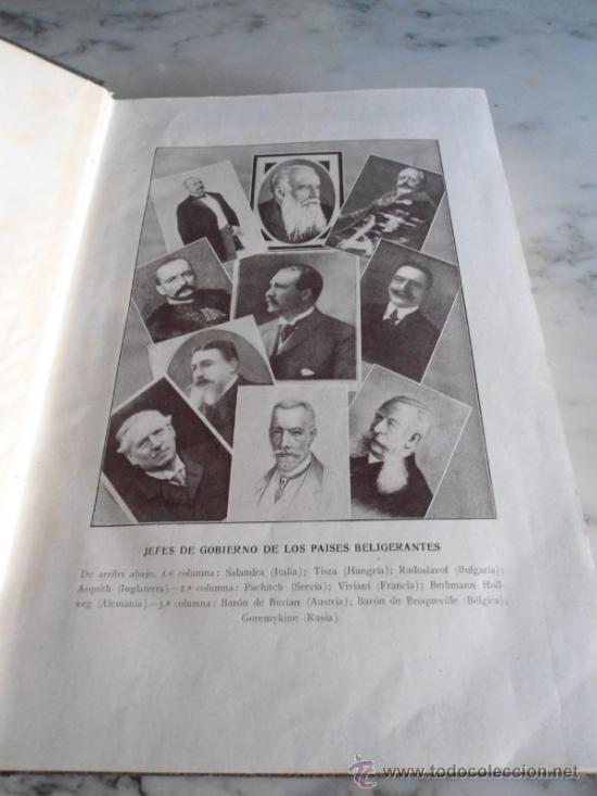 Libros antiguos: LA GUERRA EUROPEA 1914-1915 GONZALO CALVO Y JOSE BRISSA EDIT. MAUCCI 1920 TOMO TERCERO - Foto 3 - 39219699