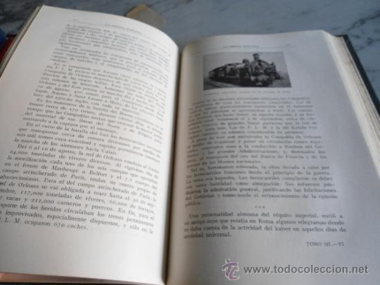 Libros antiguos: LA GUERRA EUROPEA 1914-1915 GONZALO CALVO Y JOSE BRISSA EDIT. MAUCCI 1920 TOMO TERCERO - Foto 6 - 39219699