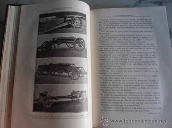 Libros antiguos: LA GUERRA EUROPEA 1914-1915 GONZALO CALVO Y JOSE BRISSA EDIT. MAUCCI 1920 TOMO TERCERO - Foto 9 - 39219699
