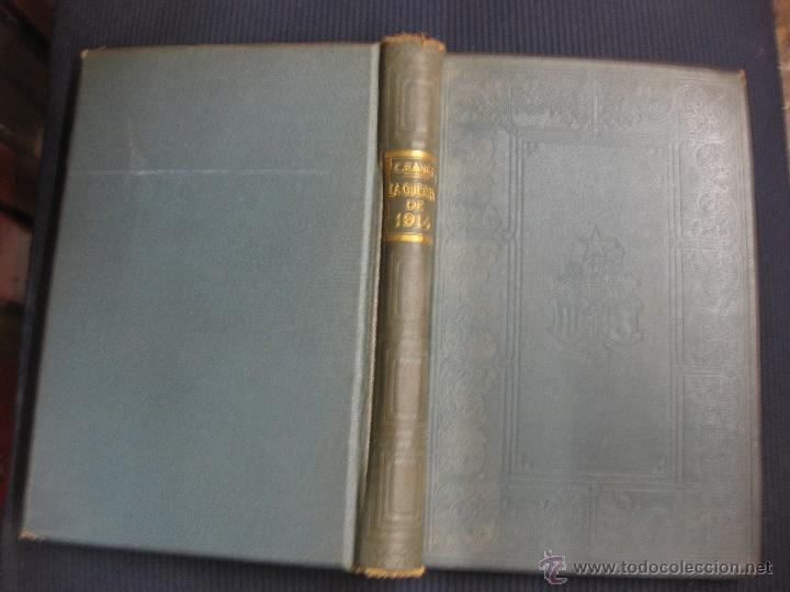 HISTORIA DE LA GUERRA DE 1914. GENERAL CARLOS BANUS. MONTANER Y SIMON 1930. (Libros antiguos (hasta 1936), raros y curiosos - Historia - Primera Guerra Mundial)
