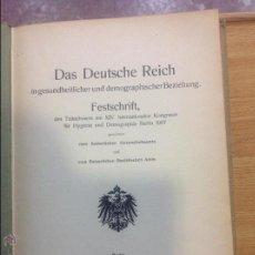 Libros antiguos: DAS DEUTSCHE REICH. Lote 44688743