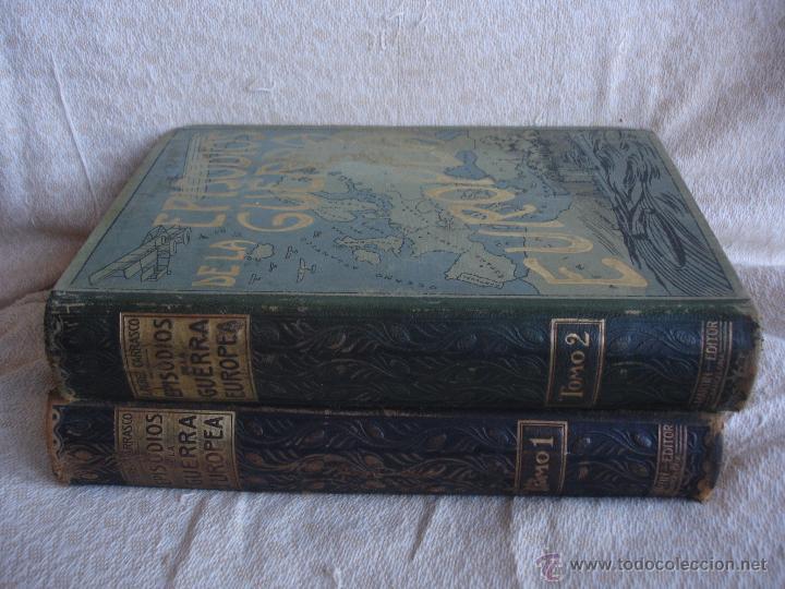 Libros antiguos: Episodios de la Guerra Europea - Foto 2 - 48391113