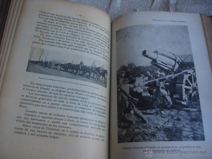 Libros antiguos: Episodios de la Guerra Europea - Foto 7 - 48391113