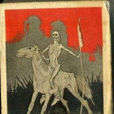 Libros antiguos: CARRASQUILLA : LA EUROPA ROJA -VISIONES DE LA GUERRA 1914-1915 (MAUCCI, 1915). Lote 49448637