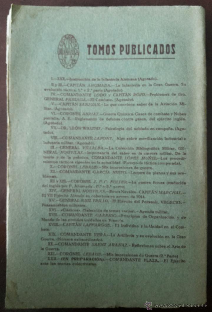 Libros antiguos: MIS PRIMERAS IMPRESIONES DE GUERRA (II), MAYO 1930. PRIMERA GUERRA MUNDIAL. VERS. ESPAÑOLA E. ALAMÁN - Foto 2 - 50684268