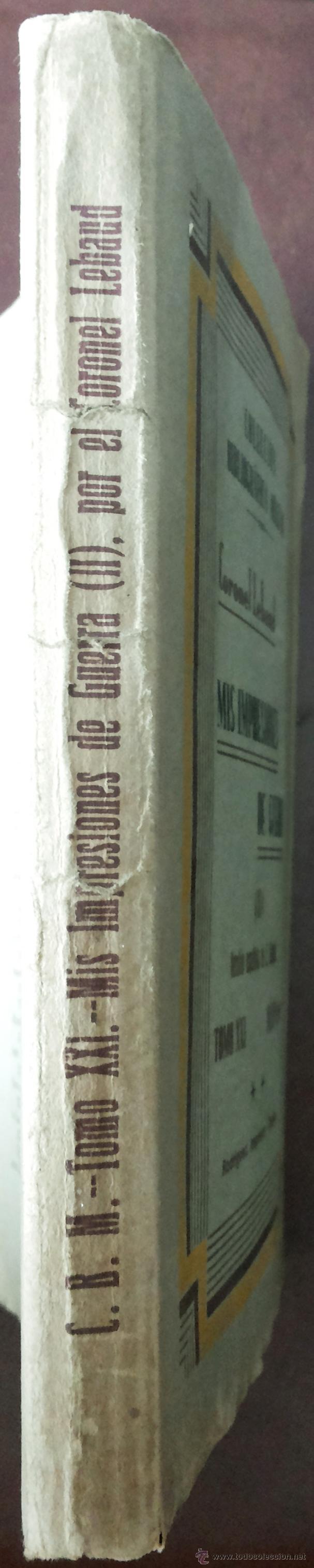 Libros antiguos: MIS PRIMERAS IMPRESIONES DE GUERRA (II), MAYO 1930. PRIMERA GUERRA MUNDIAL. VERS. ESPAÑOLA E. ALAMÁN - Foto 3 - 50684268