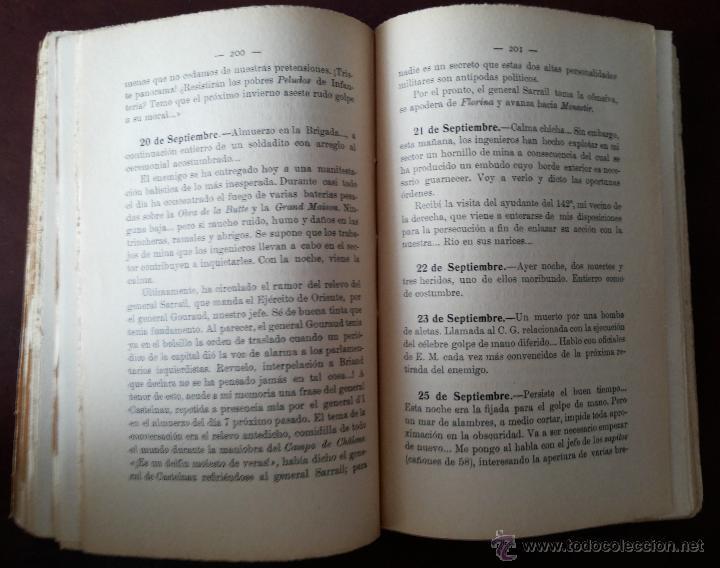 Libros antiguos: MIS PRIMERAS IMPRESIONES DE GUERRA (II), MAYO 1930. PRIMERA GUERRA MUNDIAL. VERS. ESPAÑOLA E. ALAMÁN - Foto 6 - 50684268