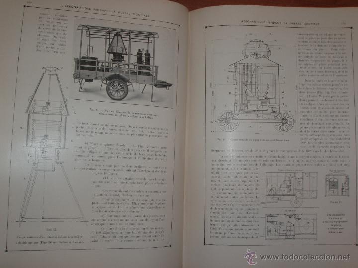 Libros antiguos: LAÉRONAUTIQUE PENDANT LA GUERRE MONDIALE. MAURICE DE BRUNOFF 1919 (MAGNIFICO EJEMPLAR HISTORICO) - Foto 2 - 52447240