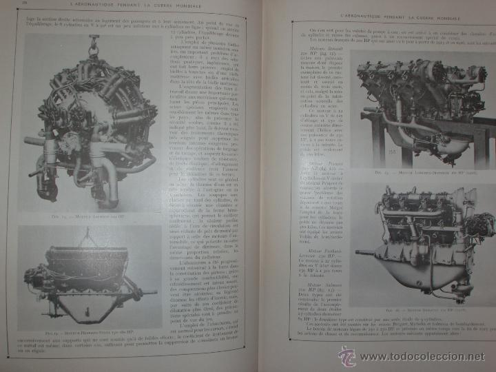 Libros antiguos: LAÉRONAUTIQUE PENDANT LA GUERRE MONDIALE. MAURICE DE BRUNOFF 1919 (MAGNIFICO EJEMPLAR HISTORICO) - Foto 8 - 52447240
