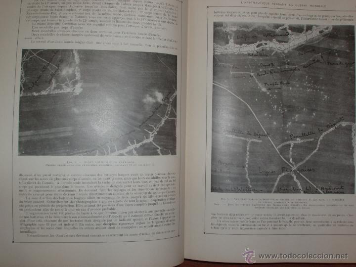 Libros antiguos: LAÉRONAUTIQUE PENDANT LA GUERRE MONDIALE. MAURICE DE BRUNOFF 1919 (MAGNIFICO EJEMPLAR HISTORICO) - Foto 9 - 52447240