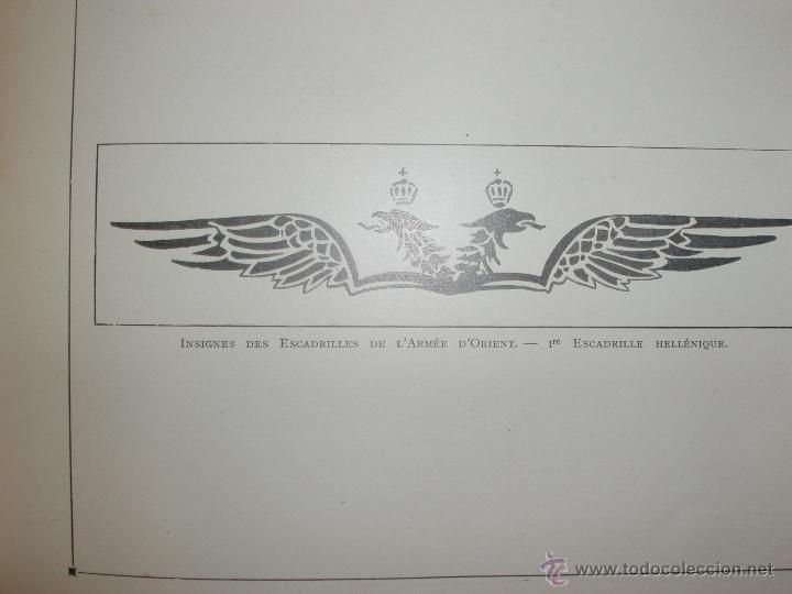 Libros antiguos: LAÉRONAUTIQUE PENDANT LA GUERRE MONDIALE. MAURICE DE BRUNOFF 1919 (MAGNIFICO EJEMPLAR HISTORICO) - Foto 10 - 52447240