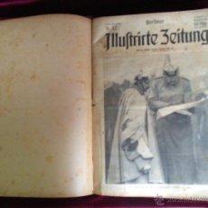 Libros antiguos: BERLINER ILLUSTRIRTE ZEITUNG 1914-1915 PRIMERA GUERRA MUNDIAL. Lote 53782700