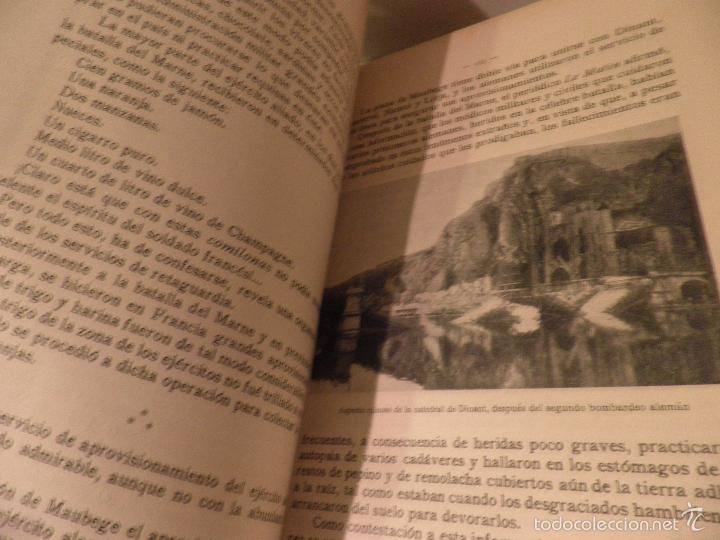 Libros antiguos: EPISODIOS DE LA GUERRA EUROPEA TOMO 2º, PEREZ CARRASCO JULIAN, 1918 - Foto 5 - 218878783