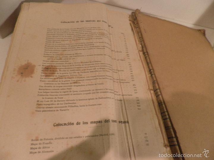Libros antiguos: EPISODIOS DE LA GUERRA EUROPEA TOMO 2º, PEREZ CARRASCO JULIAN, 1918 - Foto 12 - 218878783