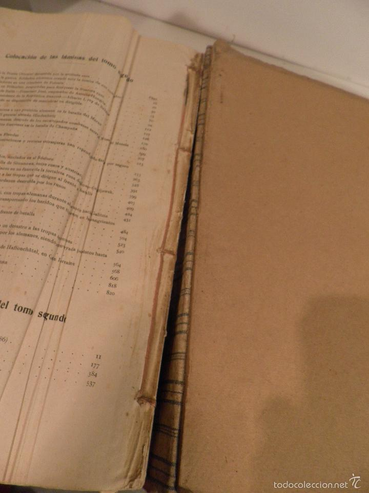Libros antiguos: EPISODIOS DE LA GUERRA EUROPEA TOMO 2º, PEREZ CARRASCO JULIAN, 1918 - Foto 13 - 218878783