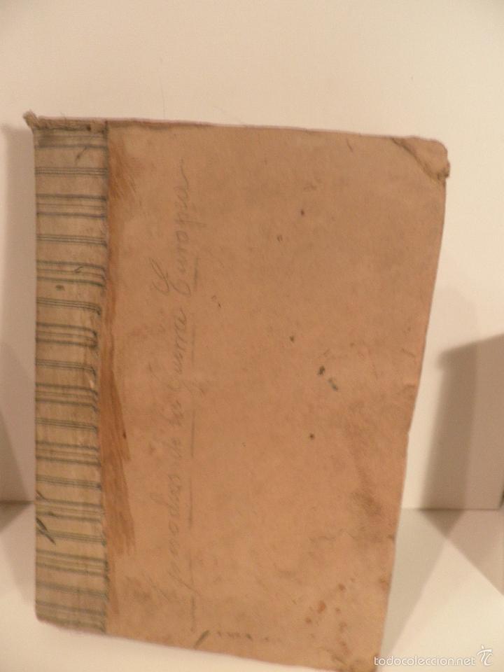 Libros antiguos: EPISODIOS DE LA GUERRA EUROPEA TOMO 2º, PEREZ CARRASCO JULIAN, 1918 - Foto 16 - 218878783