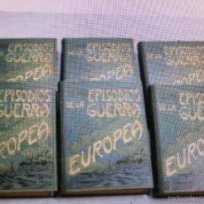 Libros antiguos: PRIMERA GUERRA MUNDIAL. EPISODIOS DE LA GRAN GUERRA.COMPLETA EN 6 TOMOS.. Lote 57694812