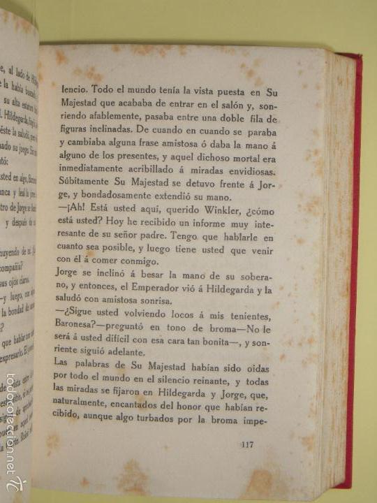 Libros antiguos: LAS MARIPOSAS DE ORO - BARON VON SCHLICHT - BIBLIOTECA CORONA, 1915 1ª EDICION EN CASTELLANO - Foto 5 - 57724997