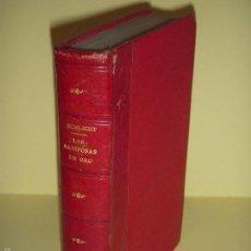 Libros antiguos: LAS MARIPOSAS DE ORO - BARON VON SCHLICHT - BIBLIOTECA CORONA, 1915 1ª EDICION EN CASTELLANO. Lote 57724997