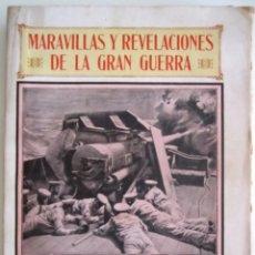 Alte Bücher - Libro ''MARAVILLAS Y REVELACIONES DE LA GRAN GUERRA'' de Miguel Gistau y Vicente Valero - 58331626