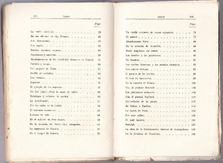 Libros antiguos: LO QUE SE IGNORA DE LA GUERRA - CRONICAS ESCRITAS - ALEJANDRO SUX - Foto 4 - 58481105