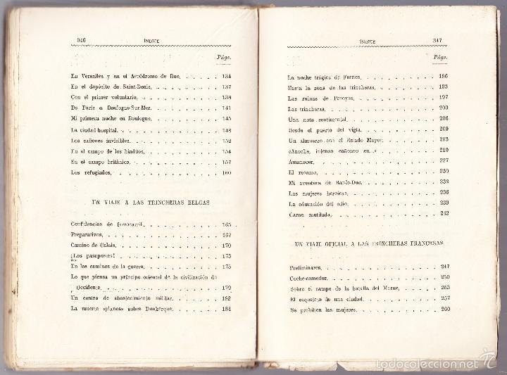 Libros antiguos: LO QUE SE IGNORA DE LA GUERRA - CRONICAS ESCRITAS - ALEJANDRO SUX - Foto 5 - 58481105