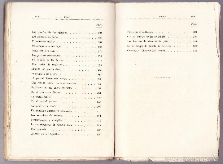 Libros antiguos: LO QUE SE IGNORA DE LA GUERRA - CRONICAS ESCRITAS - ALEJANDRO SUX - Foto 6 - 58481105