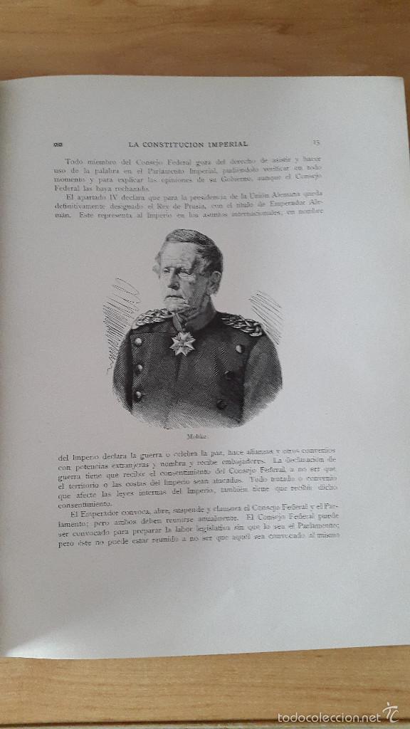 Libros antiguos: LIBRO LA PATRIA ALEMANA - GONZALO DE QUESADA - 1913 - VER FOTOS ADICIONALES, CONTIENE ILUSTRACIONES - Foto 4 - 58488911