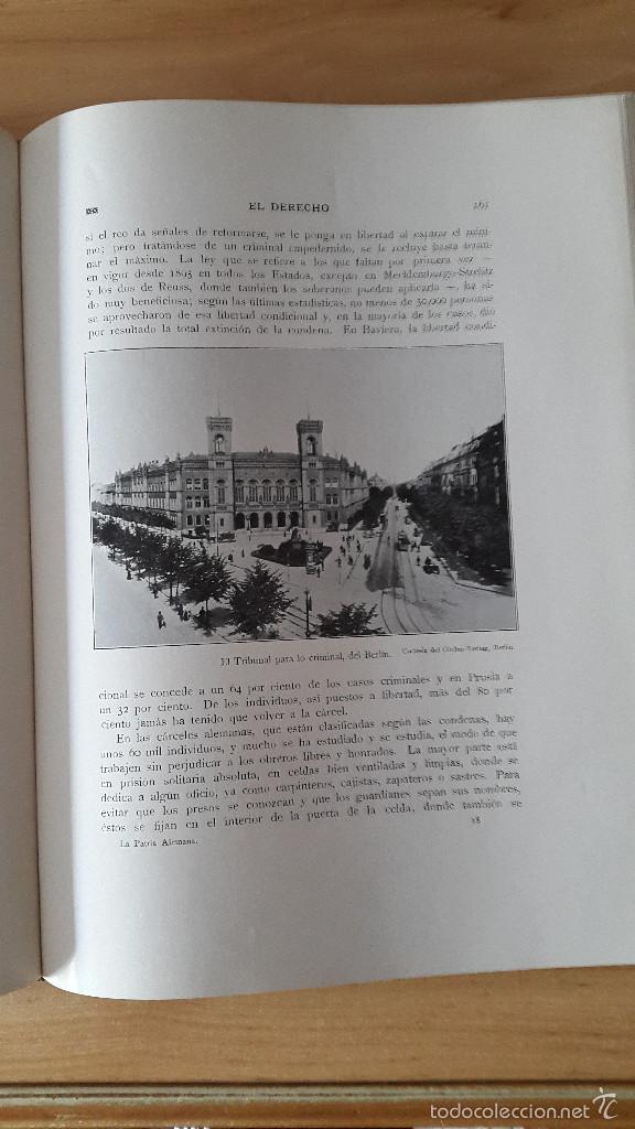 Libros antiguos: LIBRO LA PATRIA ALEMANA - GONZALO DE QUESADA - 1913 - VER FOTOS ADICIONALES, CONTIENE ILUSTRACIONES - Foto 6 - 58488911