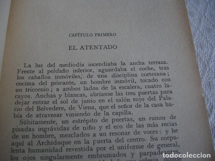 Libros antiguos: LUDWIG, EMIL: JULIO, 1914 EL MES TRAGICO - Foto 5 - 63427192