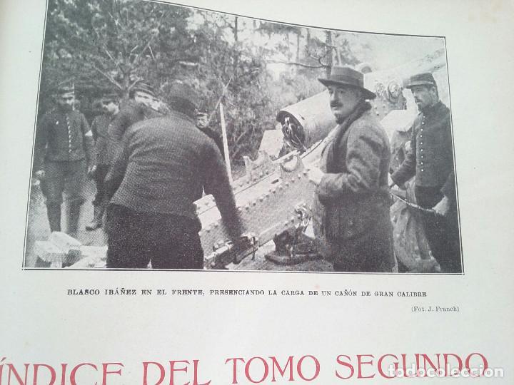 Libros antiguos: HISTORIA DE LA GUERRA EUROPEA DE 1914 - TOMO II - VICENTE BLASCO IBÁÑEZ (PROMETEO, 1920) Valencia, - Foto 9 - 74163963
