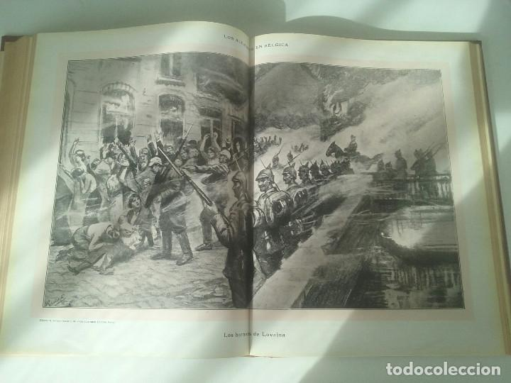 Libros antiguos: HISTORIA DE LA GUERRA EUROPEA DE 1914 - TOMO II - VICENTE BLASCO IBÁÑEZ (PROMETEO, 1920) Valencia, - Foto 11 - 74163963