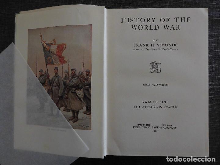 Libros antiguos: HISTORY OF THE WORLD WAR (1919), VOLUMENES 1, 2 Y 3. PRIMERA GUERRA MUNDIAL, AMPLIAMENTE ILUSTRADA. - Foto 2 - 77244533