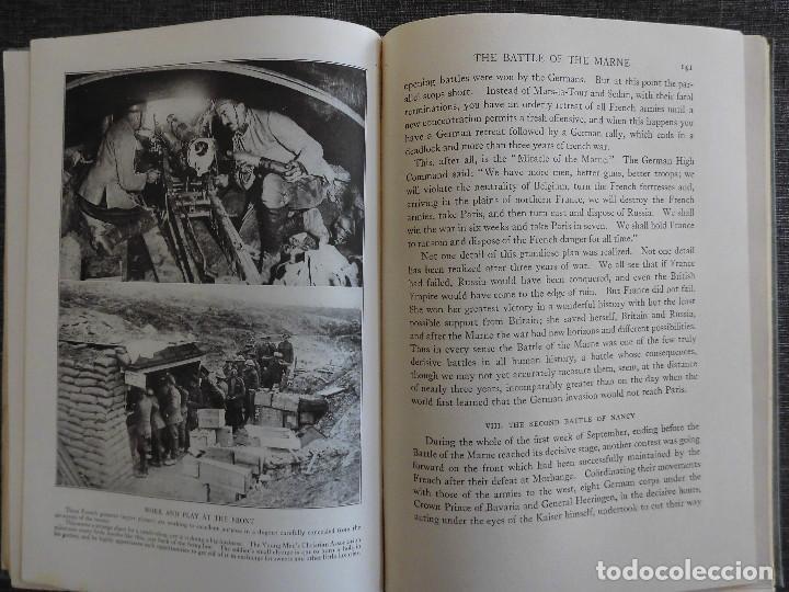 Libros antiguos: HISTORY OF THE WORLD WAR (1919), VOLUMENES 1, 2 Y 3. PRIMERA GUERRA MUNDIAL, AMPLIAMENTE ILUSTRADA. - Foto 3 - 77244533