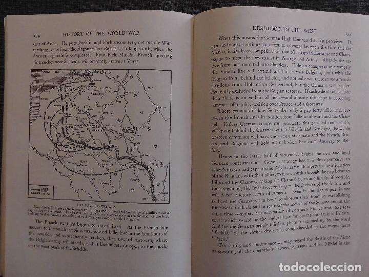 Libros antiguos: HISTORY OF THE WORLD WAR (1919), VOLUMENES 1, 2 Y 3. PRIMERA GUERRA MUNDIAL, AMPLIAMENTE ILUSTRADA. - Foto 4 - 77244533