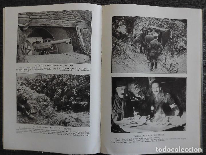 Libros antiguos: HISTORY OF THE WORLD WAR (1919), VOLUMENES 1, 2 Y 3. PRIMERA GUERRA MUNDIAL, AMPLIAMENTE ILUSTRADA. - Foto 5 - 77244533