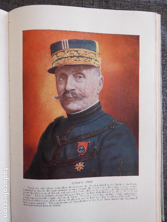 Libros antiguos: HISTORY OF THE WORLD WAR (1919), VOLUMENES 1, 2 Y 3. PRIMERA GUERRA MUNDIAL, AMPLIAMENTE ILUSTRADA. - Foto 7 - 77244533