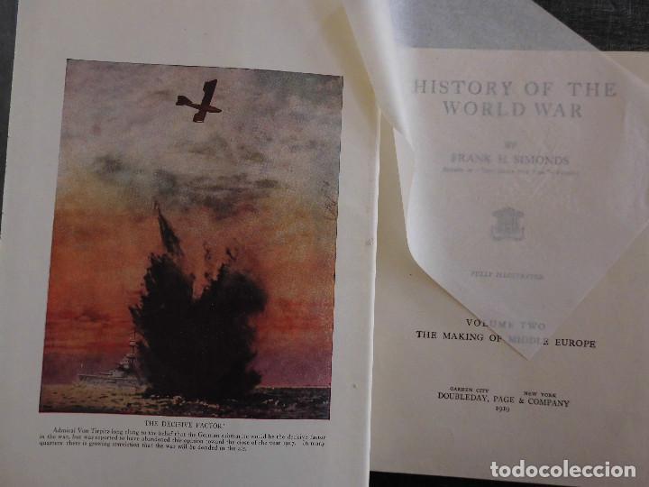 Libros antiguos: HISTORY OF THE WORLD WAR (1919), VOLUMENES 1, 2 Y 3. PRIMERA GUERRA MUNDIAL, AMPLIAMENTE ILUSTRADA. - Foto 9 - 77244533