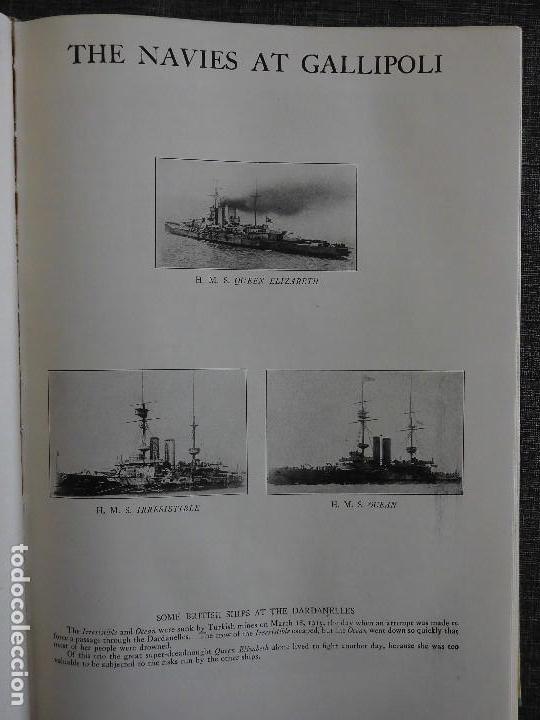 Libros antiguos: HISTORY OF THE WORLD WAR (1919), VOLUMENES 1, 2 Y 3. PRIMERA GUERRA MUNDIAL, AMPLIAMENTE ILUSTRADA. - Foto 10 - 77244533