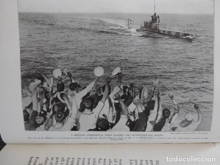 Libros antiguos: HISTORY OF THE WORLD WAR (1919), VOLUMENES 1, 2 Y 3. PRIMERA GUERRA MUNDIAL, AMPLIAMENTE ILUSTRADA. - Foto 11 - 77244533