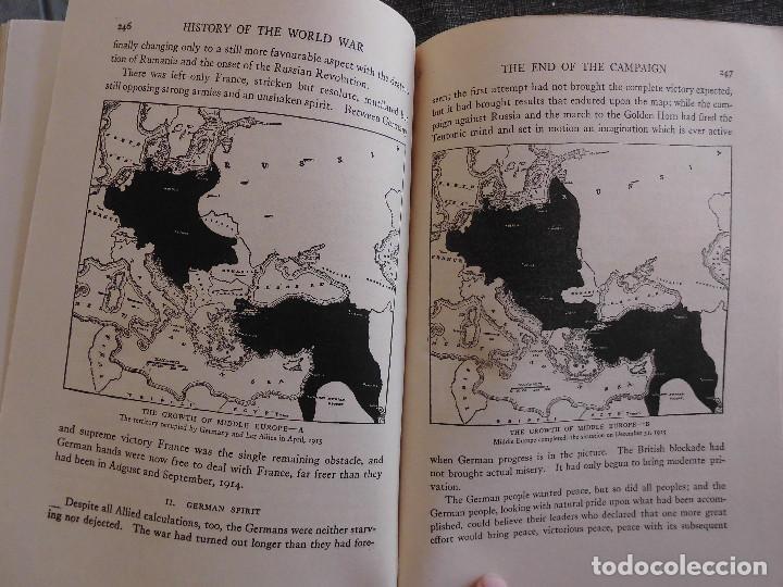 Libros antiguos: HISTORY OF THE WORLD WAR (1919), VOLUMENES 1, 2 Y 3. PRIMERA GUERRA MUNDIAL, AMPLIAMENTE ILUSTRADA. - Foto 13 - 77244533