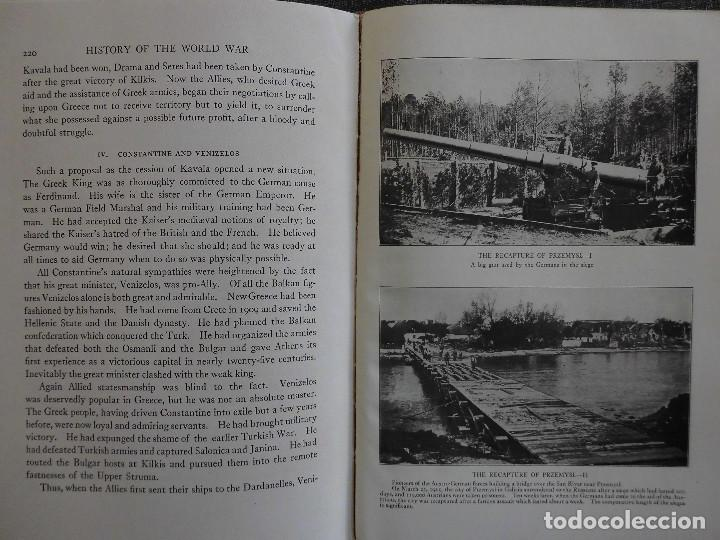 Libros antiguos: HISTORY OF THE WORLD WAR (1919), VOLUMENES 1, 2 Y 3. PRIMERA GUERRA MUNDIAL, AMPLIAMENTE ILUSTRADA. - Foto 14 - 77244533