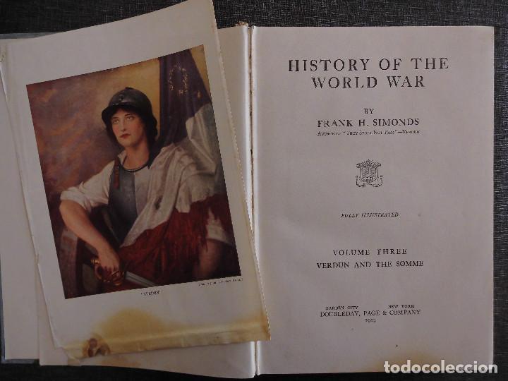 Libros antiguos: HISTORY OF THE WORLD WAR (1919), VOLUMENES 1, 2 Y 3. PRIMERA GUERRA MUNDIAL, AMPLIAMENTE ILUSTRADA. - Foto 16 - 77244533