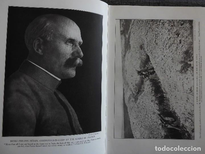 Libros antiguos: HISTORY OF THE WORLD WAR (1919), VOLUMENES 1, 2 Y 3. PRIMERA GUERRA MUNDIAL, AMPLIAMENTE ILUSTRADA. - Foto 17 - 77244533