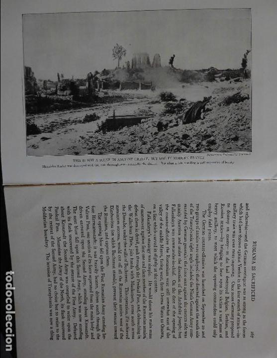 Libros antiguos: HISTORY OF THE WORLD WAR (1919), VOLUMENES 1, 2 Y 3. PRIMERA GUERRA MUNDIAL, AMPLIAMENTE ILUSTRADA. - Foto 21 - 77244533